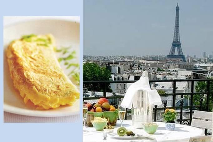 Классический французский омлет
