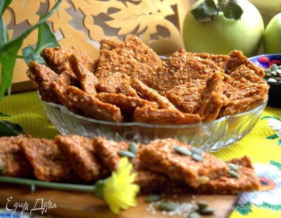 Хрустящие картофельные хлебцы за 30 минут