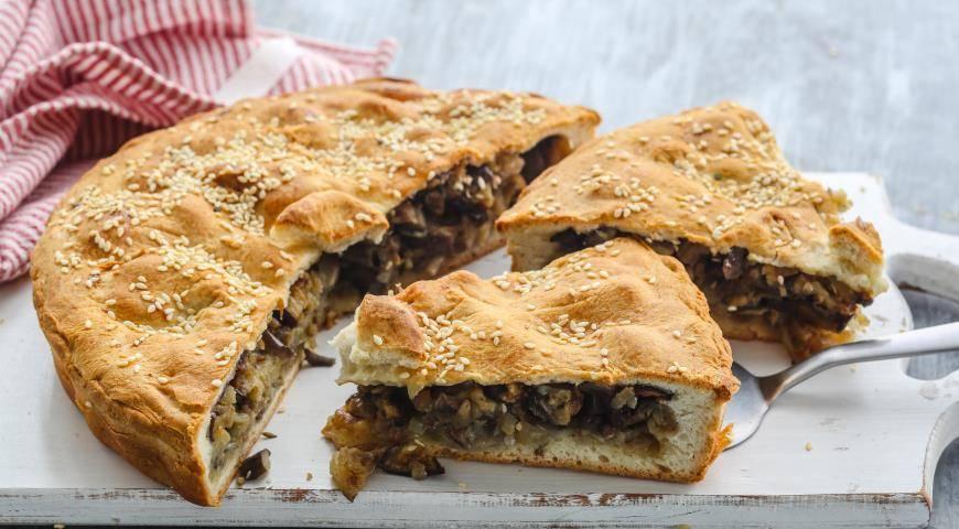 Пирожки с баклажанами