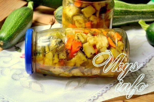 Вкусные кабачки на зиму. 6 простых рецептов хрустящих маринованных в банках кабачков