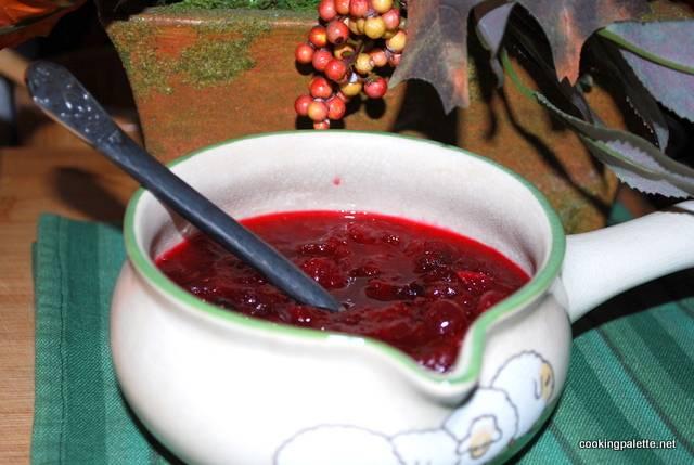 Клюквенный соус к мясу: рецепт пошагово с фото