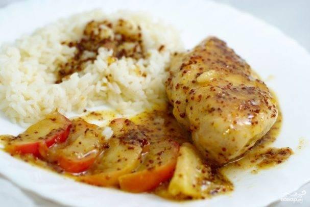Курица в медово-горчичном соусе в духовке и на сковороде: пошаговые рецепты с фото и видео