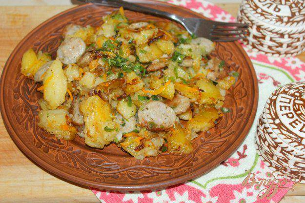 Очень вкусная картошка с мясом в горшочках в духовке