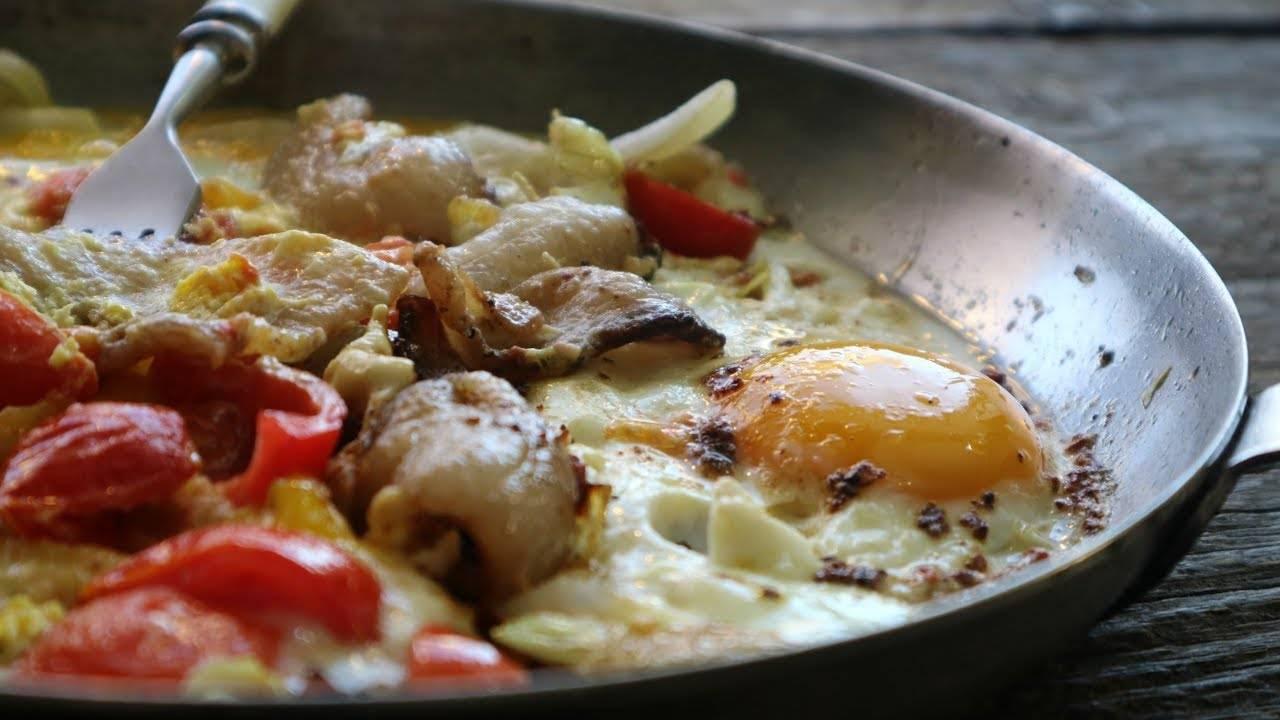 Картофель по-украински с салом