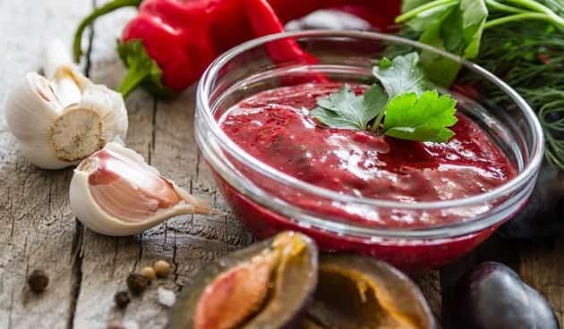 Любимый классический соус ткемали из сливы