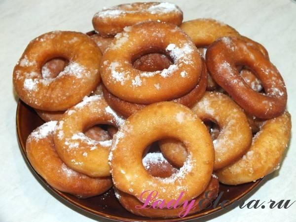 Как приготовить пончики в домашних условиях пошаговый