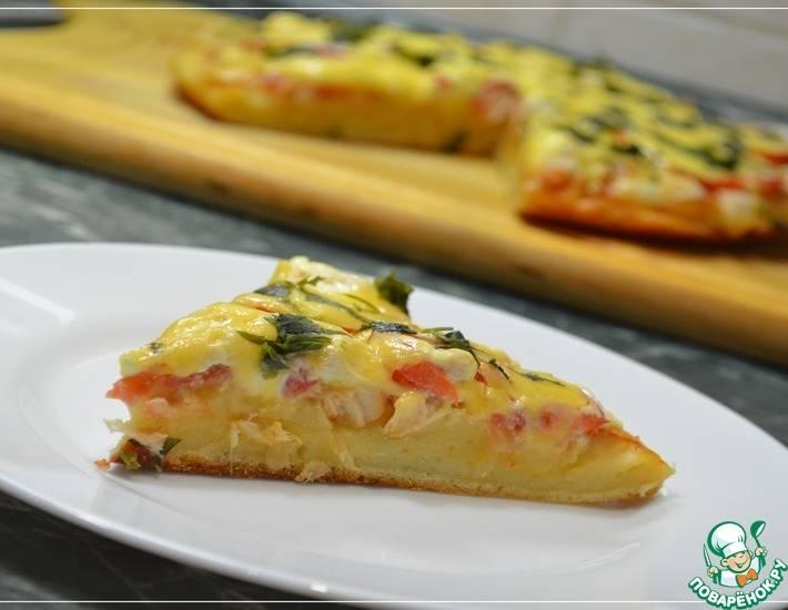Видео кулинария мастер-класс рецепт кулинарный пицца на сковороде за 10 минут - это оочень вкусно быстрая пицца без дрожжей и без замеса теста продукты пищевые