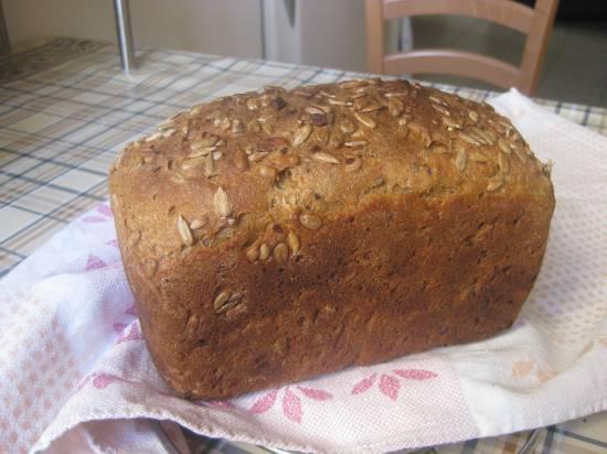 Тыквенный хлеб с чесноком и розмарином