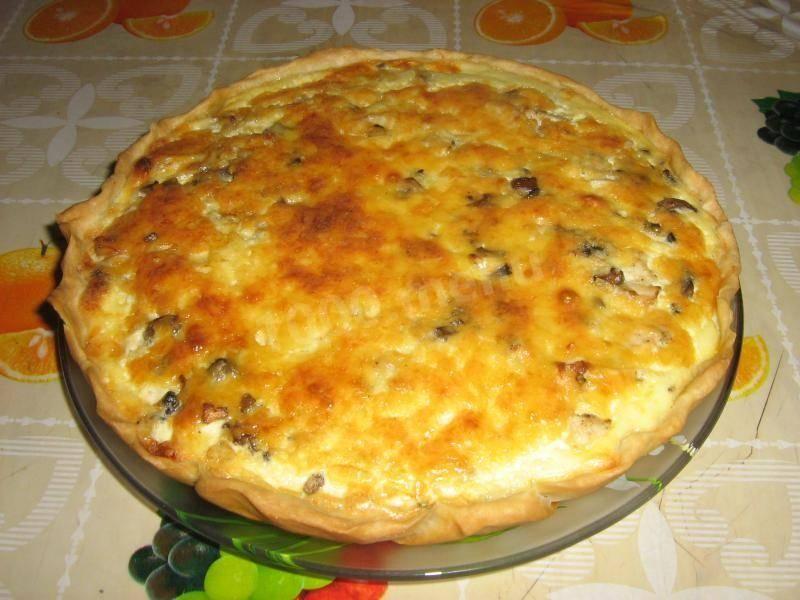 Лоранский пирог - вкусные рецепты песочного теста и разнообразных начинок