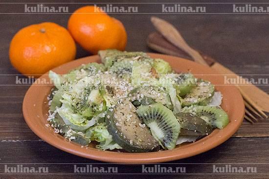 Буйство вкуса: салат с авокадо и грейпфрутом