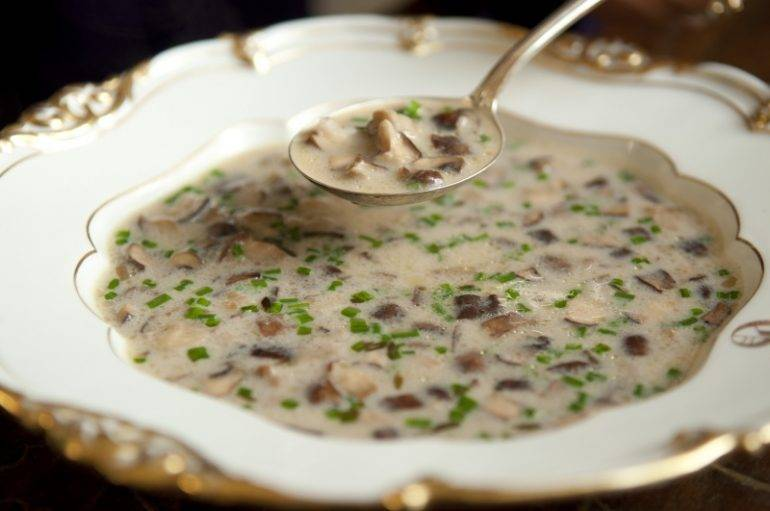 Грибной суп - 202 домашних вкусных рецепта приготовления