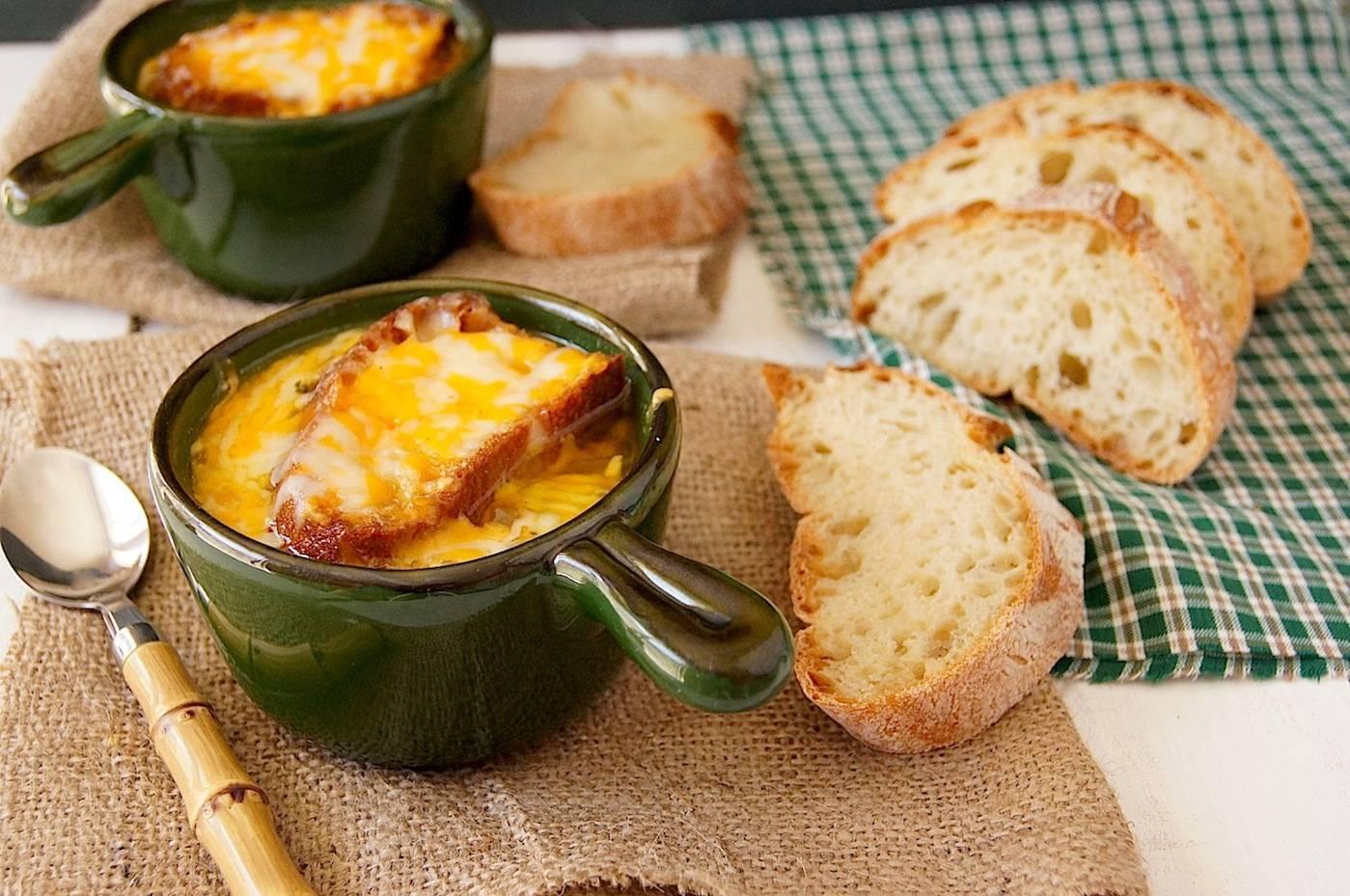 Французский луковый суп – 3 рецепта