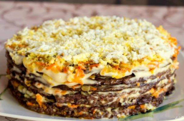 Печeночный торт № 41