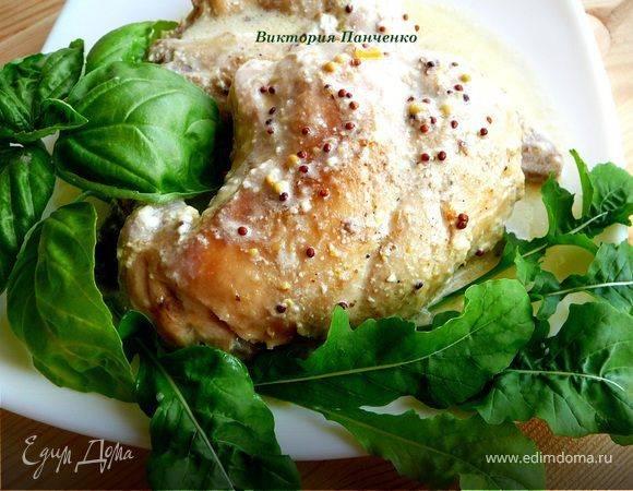Кролик с грибами и рисом в мультиварке — рецепт для мультиварки