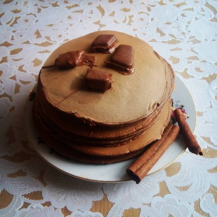 Шоколадные панкейки: рецепты американской кухни