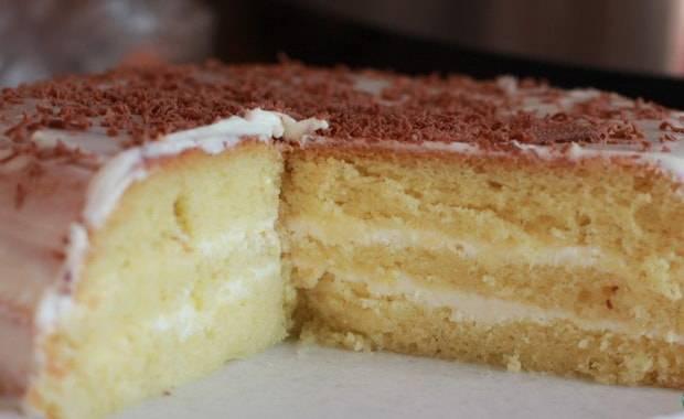 Пышный бисквит для торта: рецепт с фото пошагово