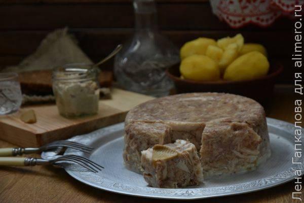 Холодец из говяжьей рульки и свиного копы́та - рецепт с фотографиями - patee. рецепты