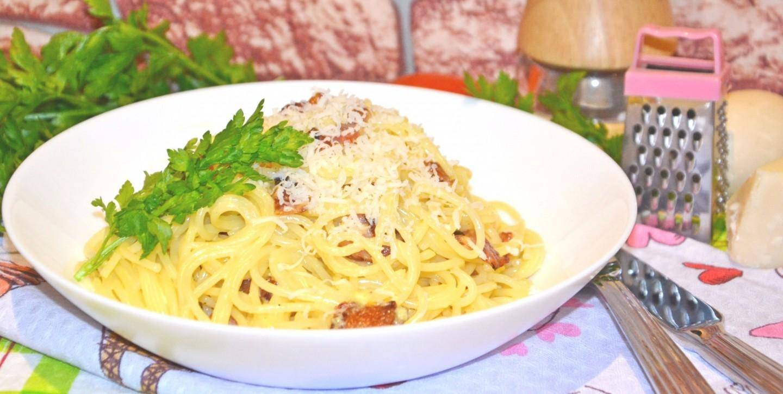 "Спагетти  а-ля ""карбонара"""