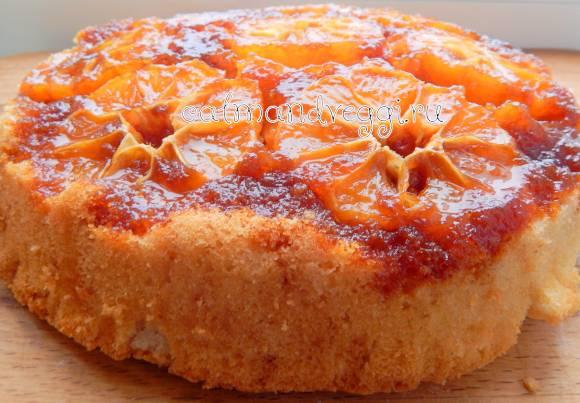 Пирог с мандаринами – 6 очень вкусных рецептов