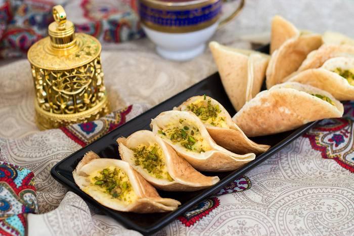 Арабские блинчики катаеф - рецепт с фотографиями - patee. рецепты