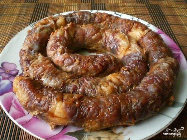 Домашняя колбаса