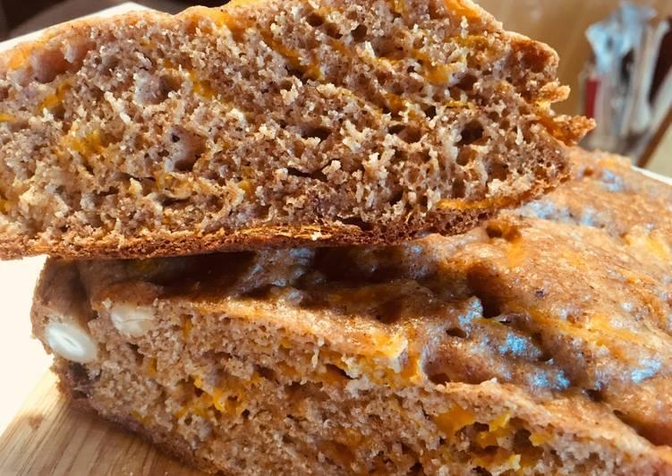 Как испечь тыквенный хлеб с семечками, орехами пекан и специями — фото-рецепт в домашних условиях