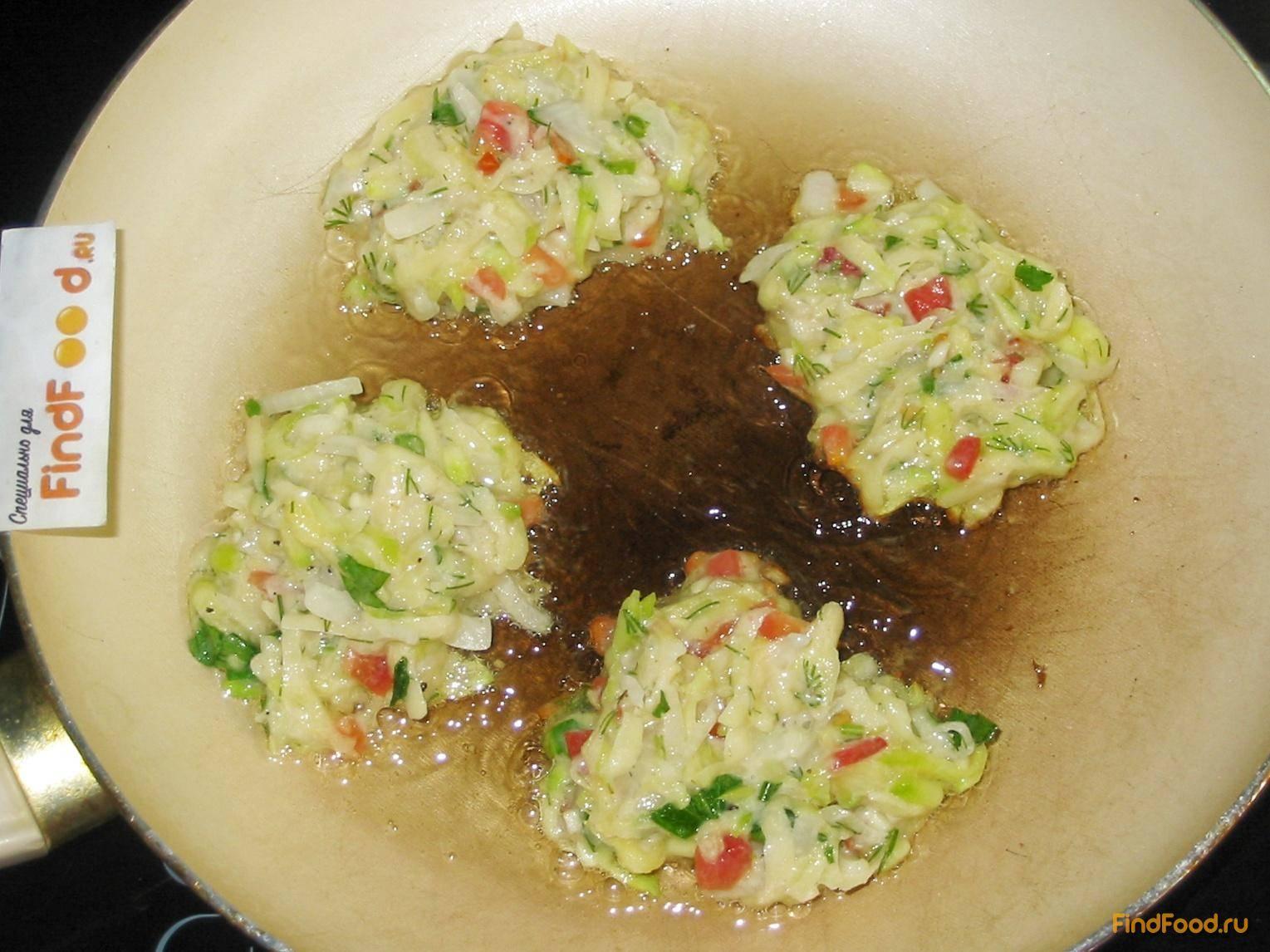 Драники с овощами рецепт с фото