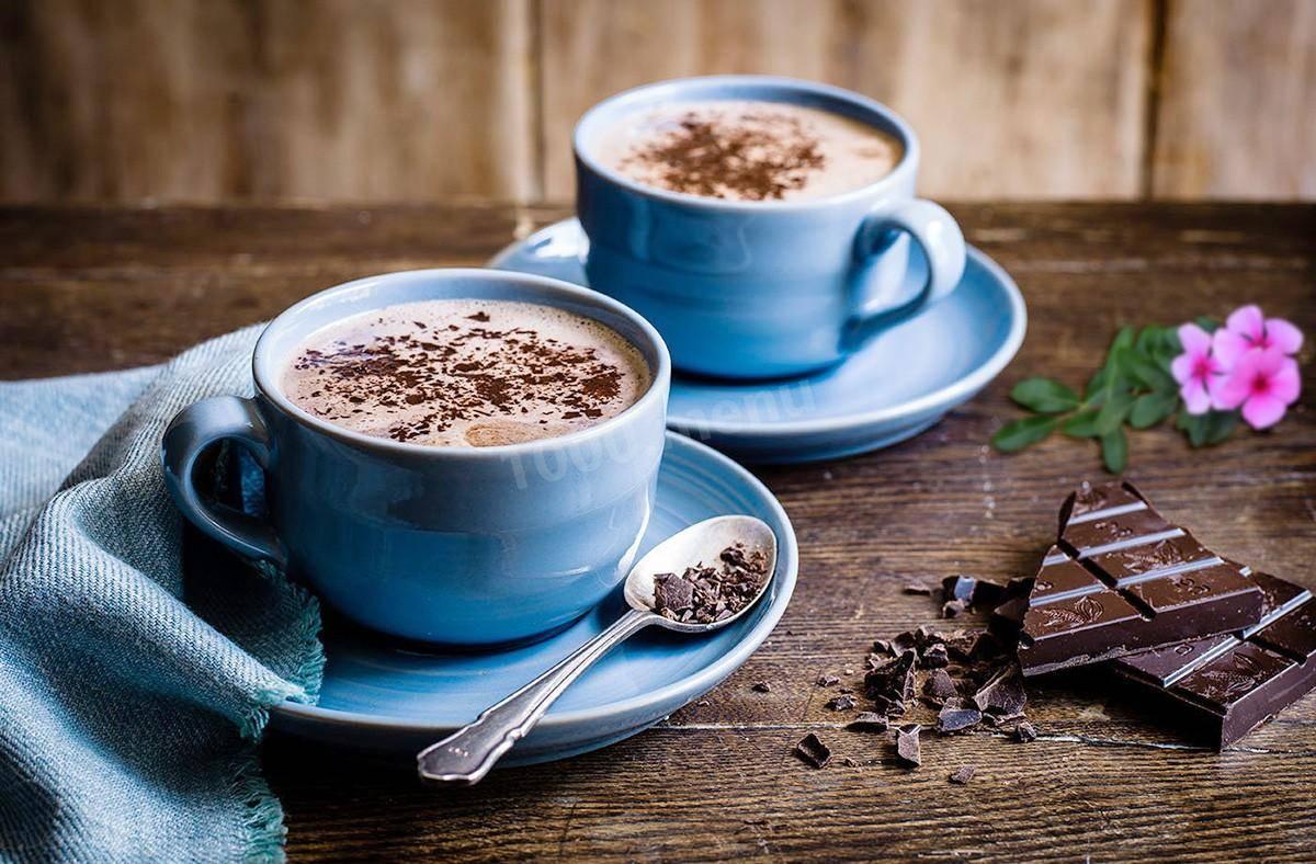 Горячий шоколад в домашних условиях: пошаговый рецепт с фото