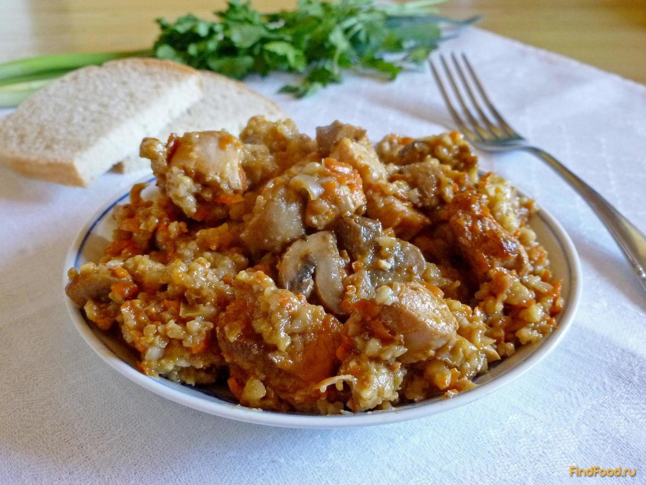 Ячневая каша с грибами – 4 рецепта приготовления