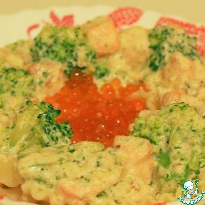 Паста с брокколи и соусом из зеленого базилика - рецепты джуренко