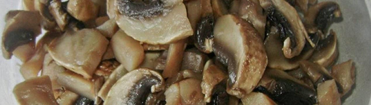 Горячие блюда с грибами - рецепты