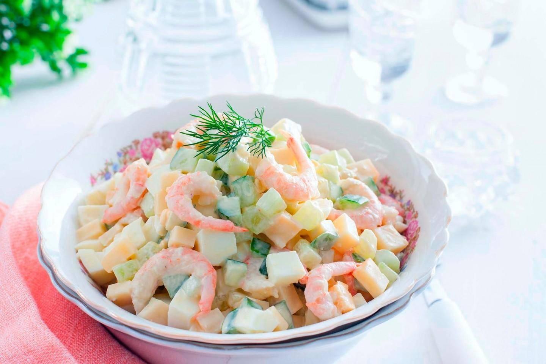 Салаты с морепродуктами – 5 простых и вкусных рецептов