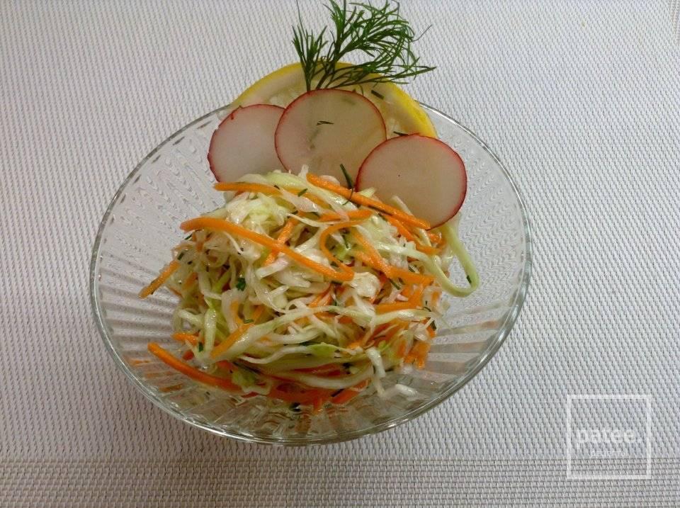 Салат с капустой - 288 домашних вкусных рецептов приготовления