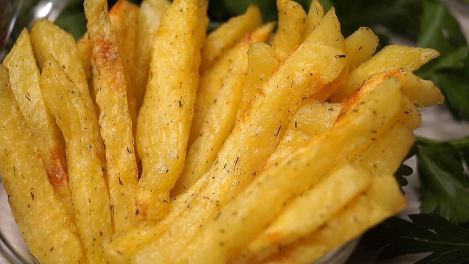 Острый сырный соус к картофелю фри