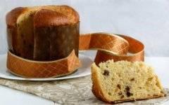 Рецепт итальянского кулича: молочный панеттоне с изюмом от паскуале