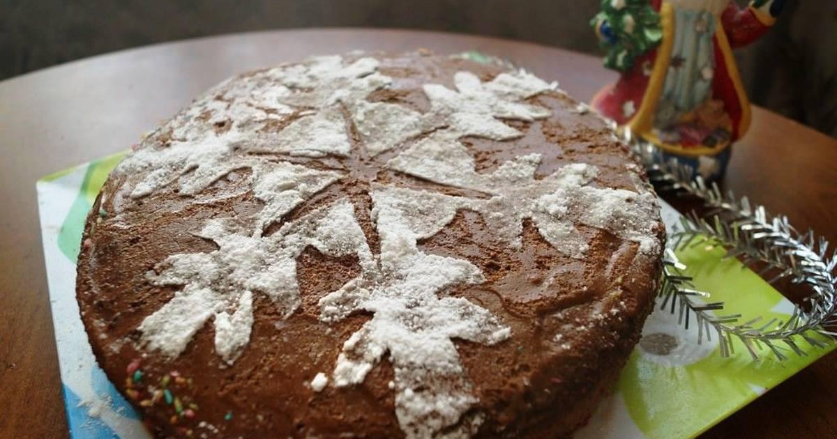 Арахисовый торт с кремом из арахисовой пасты