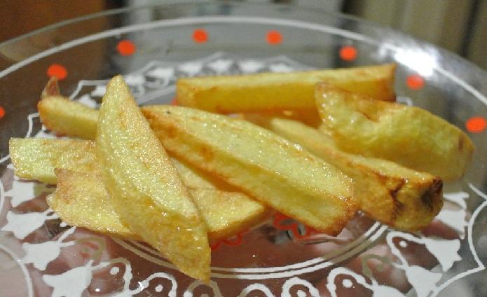 Как сделать картошка фри в микроволновке за 5 минут в домашних условиях