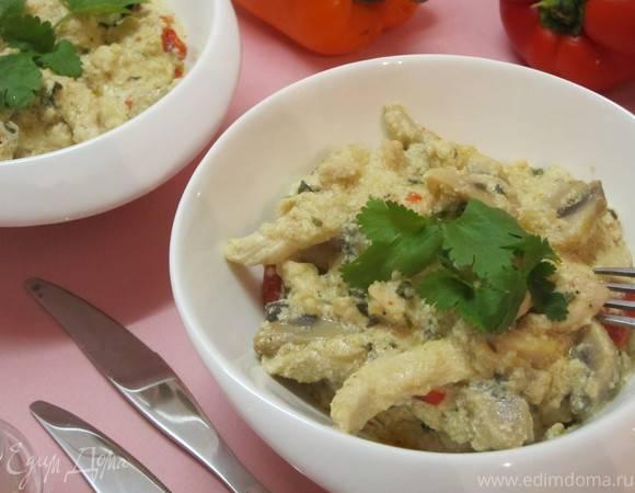 Фрикасе из курицы (chicken and mushroom fricassée) - рецепт с фотографиями - patee. рецепты