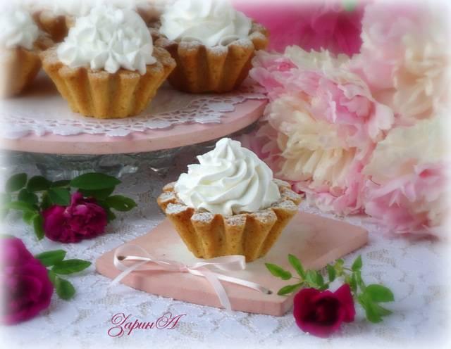 Лучшие рецепты приготовления пирожного корзиночка с белковым кремом