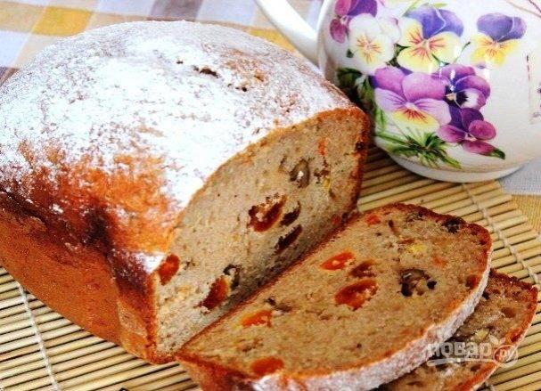 Лимонный кекс в хлебопечке - 10 пошаговых фото в рецепте