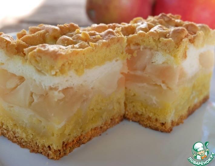 Пирог с яблоками