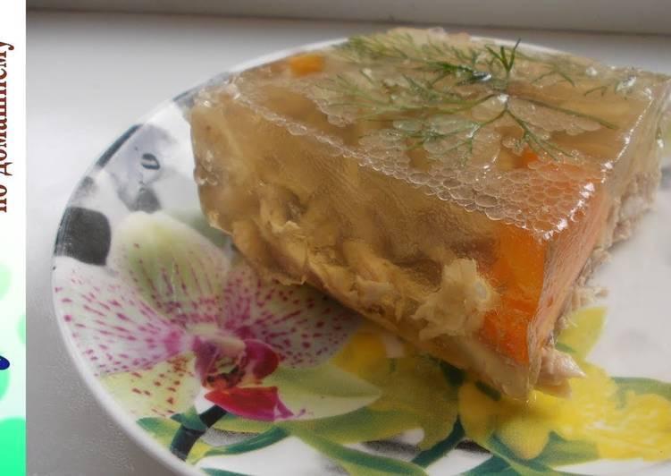 Как сварить вкусный холодец в домашних условиях правильно: пошаговый рецепт с фото