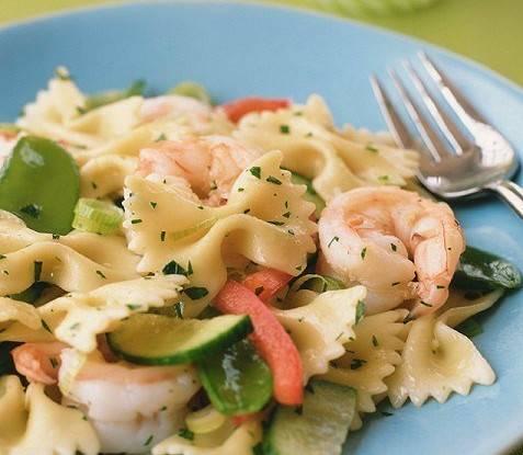 Паста с креветками в сливочном соусе - самые вкусные рецепты макарон по-итальянски