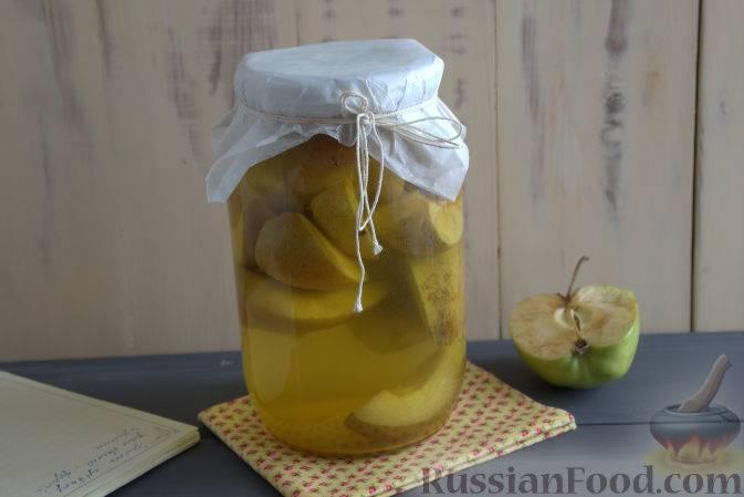Компот из груш на зиму - интересные идеи приготовления полезного фруктового напитка