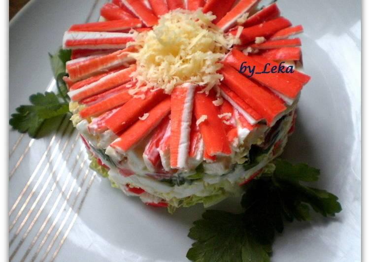 Салат хризантема