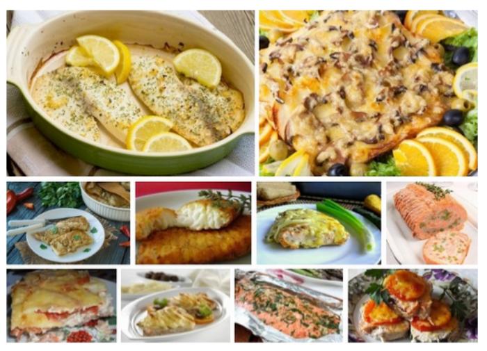 Филе минтая запеченное в духовке 7 домашних вкусных рецептов