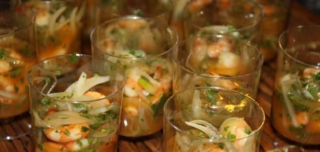 14 лучших рецептов креветок в сливочно-чесночном соусе