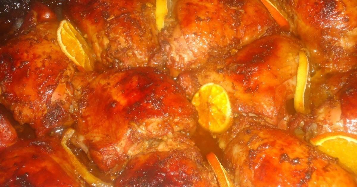 Куриные голени на луковой подушке - рецепт с фотографиями - patee. рецепты