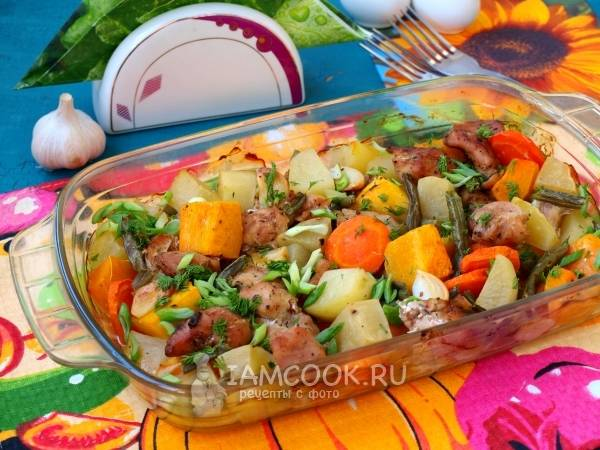 Индейка с овощами в духовке: рецепт с фото пошагово. как приготовить индейку, запеченную в духовке с овощами?