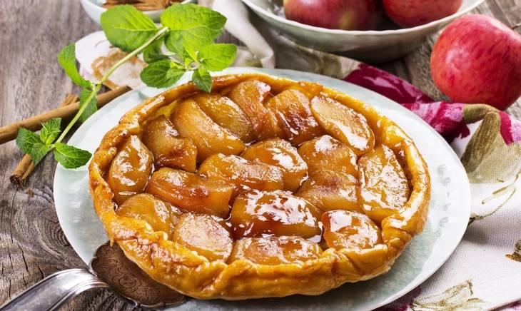 """Пирог """"тарт татен"""" с яблоками"""